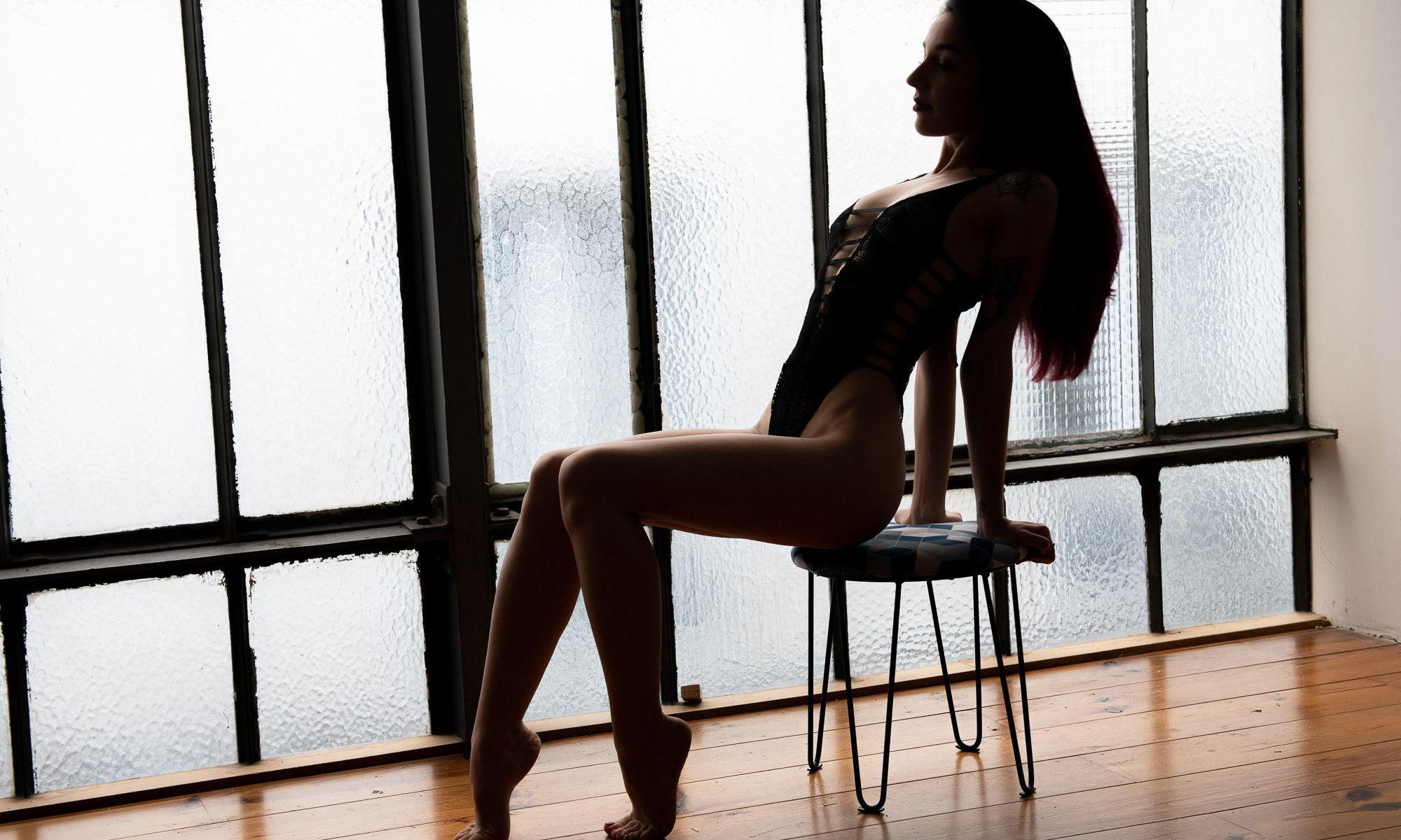 Boudoir contrejour chaise